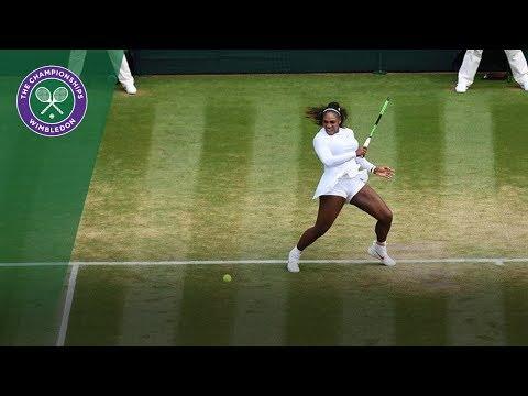 Serena Williams vs Evgeniya Rodina 4R Highlights   Wimbledon 2018
