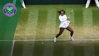 Serena Williams vs Evgeniya Rodina 4R Highlights | Wimbledon 2018