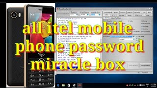 Itel 5231 5250 unlock format read code done in 2 mint with tool 100