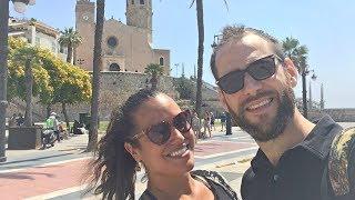SITGES, BOA OPÇÃO DE BATE VOLTA DE BARCELONA - ESPANHA - Vlog #198