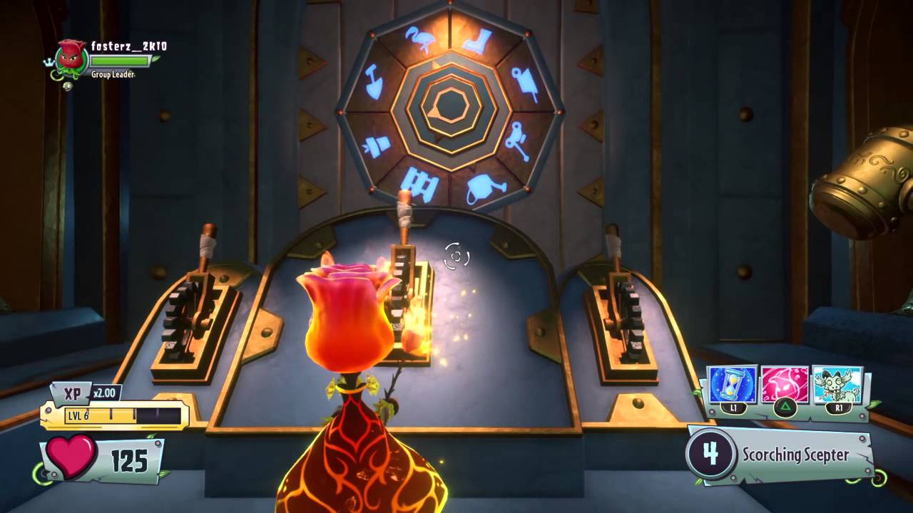 Plants Vs Zombies Gw2 How To Open Secret Gnome Vault