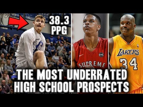 The Most Underrated High School Basketball Prospects| Mac McClung? | Shaq's Son?