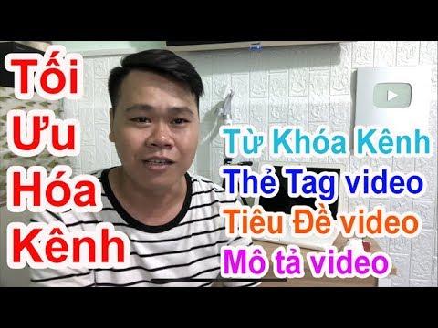 Từ khóa, thẻ tag là gì? cách tăng view, ăn đề xuất khi làm youtube