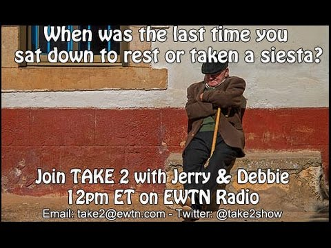 Take 2 with Jerry & Debbie - 3/8/2016- Importance of rest