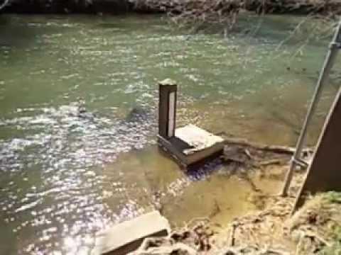 Antietam Creek Flow Gauging Station - 100 Yds Downstream from Burnside Bridge