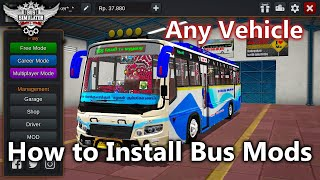 How to Install Mods in Bus Simulator Indonesia screenshot 5