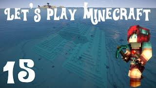Let's Play Minecraft 1.8 - Ep 15 : Découverte d'un temple sous-marin