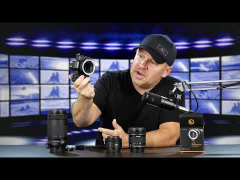 VELO Canon M to EF / EF-S Lens Adapter Unboxing & Initial Impressions