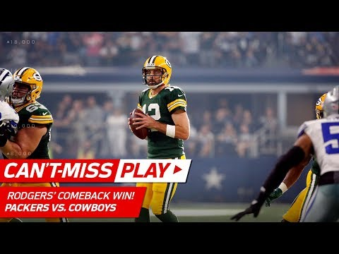 Aaron Rodgers = 4th Quarter MVP w/ Amazing Comeback! 🏆   Can
