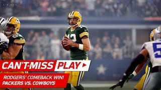 Aaron Rodgers = 4th Quarter MVP w/ Amazing Comeback! 🏆 | Can't-Miss Play | NFL Wk 5 Highlights