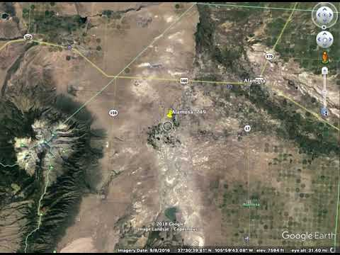 Alamosa749. 5 Acres near Alamosa. Mountain views