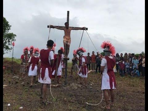 TABLO KISAH SENGSARA YESUS KRISTUS 2018