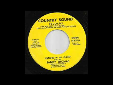 Sandy Thomas - Antique In My Closet