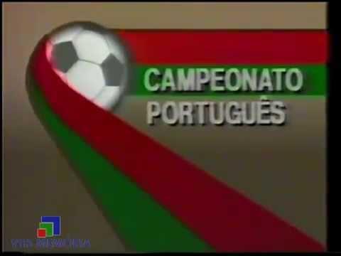 Vinheta Campeonato Portugues - Rede Manchete (1990)