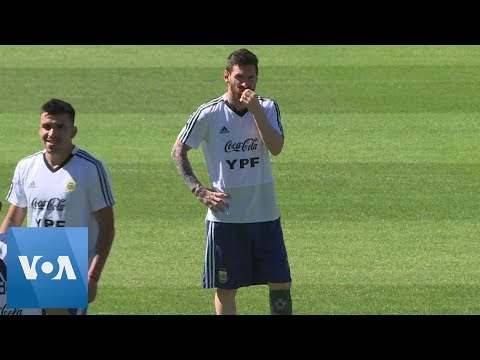 Messi Trains With Argentina Ahead Of Crucial Copa America Game Against Paraguay