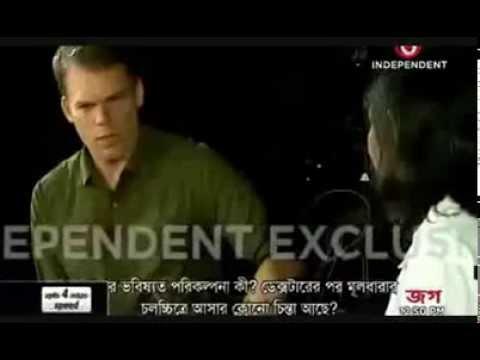 Michael C. Hall interview - Ei Shoptaher Hollywood - Bangladesh - 06/10/2013
