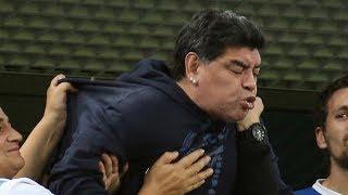 Diego Maradona, Argentinian football icon's rollercoaster night