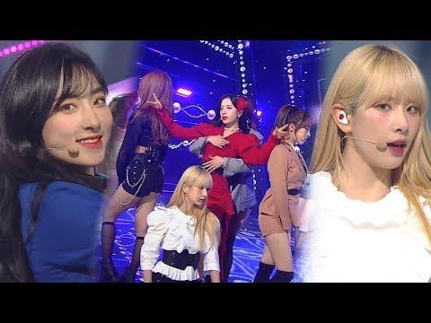 WJSN(우주소녀) - SAVE ME, SAVE YOU(부탁해) @인기가요 Inkigayo 20181028