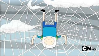 Adventure time: Spider web