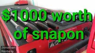 Snapon tools $1000 worth.