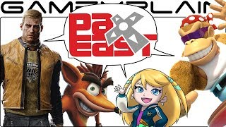 PAX East Games DISCUSSION - Wolfenstein II & Dark Souls Switch, Funky Kong, Sushi Striker, & More