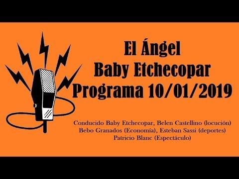 El Ángel con Baby Etchecopar Programa 10/01/2019