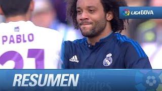 Resumen de Málaga CF (1-1) Real Madrid