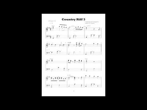 Country Piano Riff