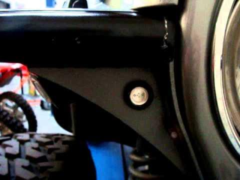 Jeep Tj Cj Yj Jk Led Turn Signal Indicator Blinkers Youtube