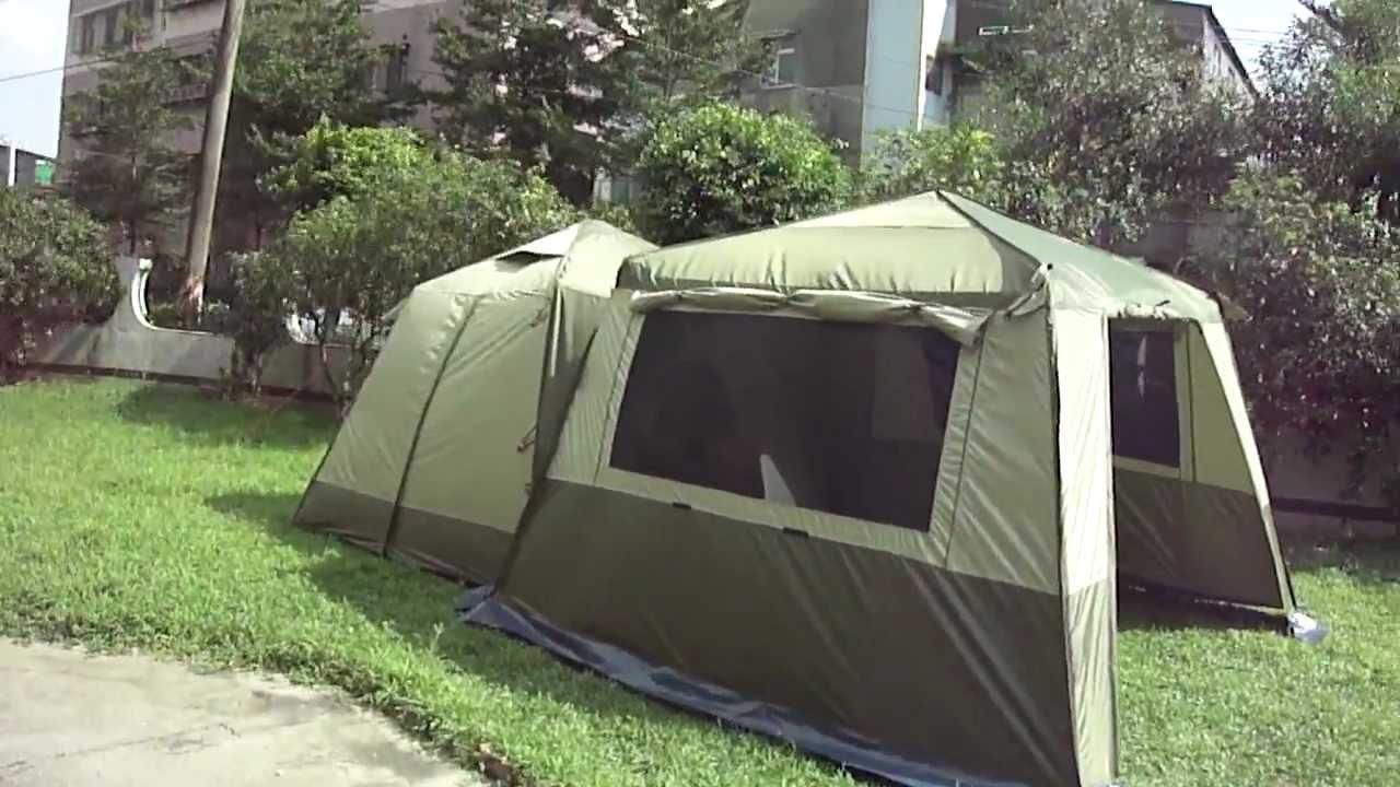 turbo tent 強風測試威力屋及威力天幕320影片 - YouTube