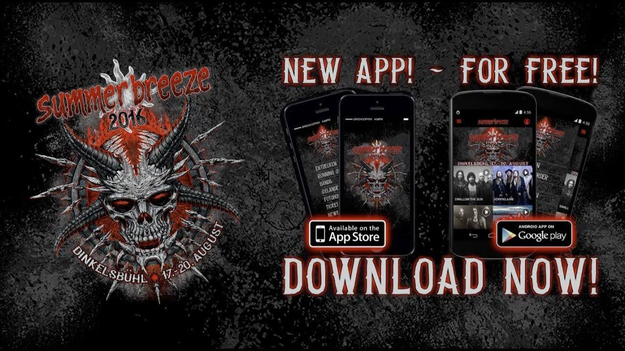 Shirt design app for pc - Summer Breeze App 2016 Metal Festival