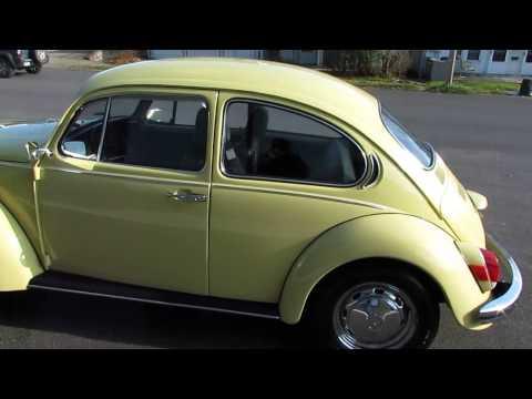 1971 VW Super Beetle Automatic Stick Shift