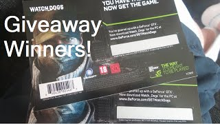 2x PC Code GIVEAWAY WINNERS!! (FIFA 14 GAMEPLAY)
