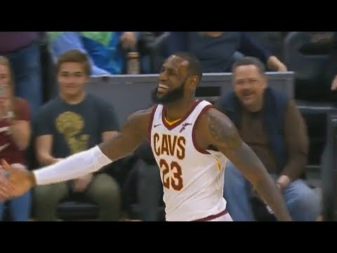LeBron James Laughs at Larry Nance Jr's Worst Alley-Oop Throw Fail!