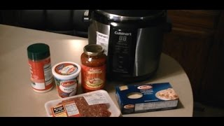 Worlds Best 8 Min. Pressure Cooker Lasagna  DELICIOUS!