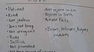 What Is Love? Christian Sermons Online Bible Teaching Video