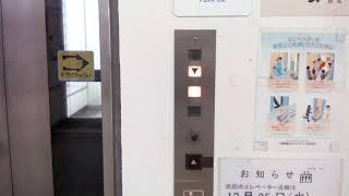 横浜市地下鉄ブルーライン仲町台駅あざみ野方面側エレベーター