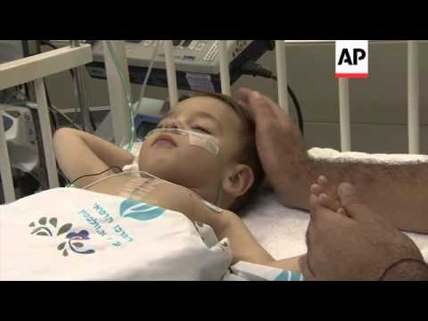 Ceasefire allows children from Gaza to be treated in Israeli hospital