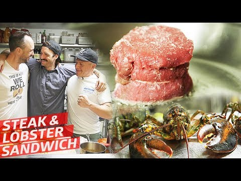How A Sandwich Master Turns Steak And Lobster Into A Perfect Sandwich — Prime Time