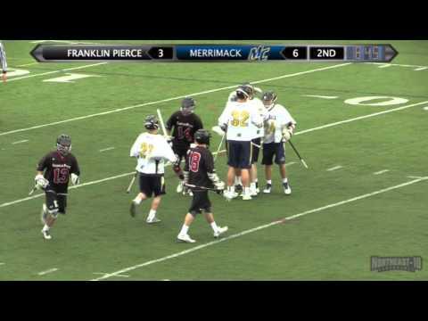 MLAX: Franklin Pierce Highlights (4-12-16)