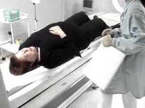 Exame de cintilografia ossea