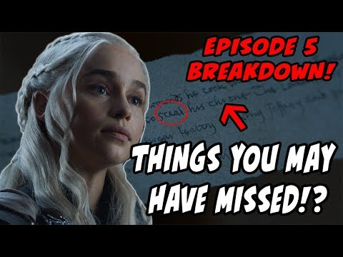 Things You MAY Have Missed?! Game Of Thrones Season 7 Episode 5 BREAKDOWN Eastwatch