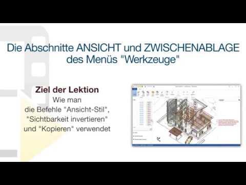 """Tutorial von usBIM.viewer+ - ANSICHT und ZWISCHENABLAGE des Menüs """"Werkzeuge"""" - ACCA software thumbnail"""