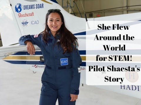 Women in Aviation: Youngest Female Pilot to Solo the Globe -