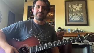 Luke Bryan Down To One Guitar Lesson and Tutorial