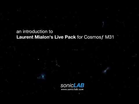 """Laurent Mialon """"La Peste"""" Live Pack for CosmosƒM31"""