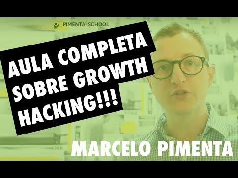 🍏 → Nova Aula Grátis Sobre Growth Hacking Com Marcelo Pimenta