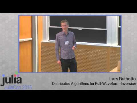 Lars Ruthotto: Distributed algorithms for full-waveform-inversion