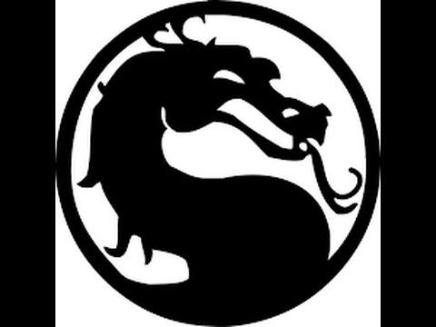 Mortal Kombat Izimihow To Draw The Mortal Kombat Logo Youtube