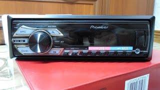 Pioneer MVH-150UBG распаковка и небольшой обзор настроек